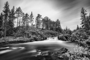 Tuddal Waterfall 1 | Norway by JacktheFlipper-de