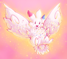 pokeddexy 08 flying - togekiss by Peegeray