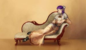Victorian lady by eleth89