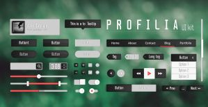Profila UI kit by AlexSatriani