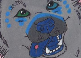 ACEO Such a silly dog by JamJams