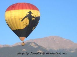 Cowboy over the Peak by Erael71