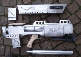 Single parts- elysian sniper rifle by ElysianTrooper