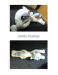 Candy Dancer OC Plush by SwiftyPlushies