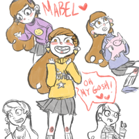 mabel pines by sesshyfanchick