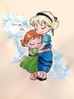 I love you, Elsa (colour) by crystalwaterfall