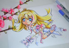 Fairy Godmother Janna by Lighane