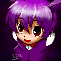 .:FNAF:. Bonnie-Senpai by SkyWarriorKirby