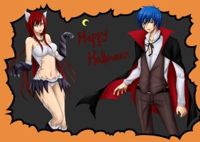 Jerza in Halloween Costume by 268514