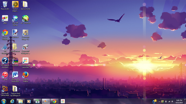 Current desktop by G0rzi