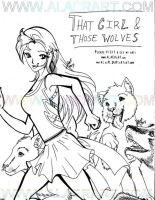 That Girl and Those Wolves by alaer