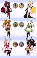 SuperLate Holiday Sugamimi Adopts (OPEN) by DesireeU