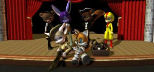 Tails' Night At Freddy's by HectorNY