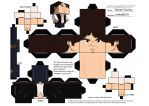 Han Solo CubeeCraft Template by Neibaf63
