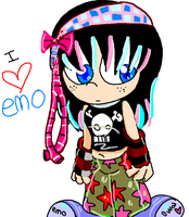 Emo or Scene... by Violent-Rainbow