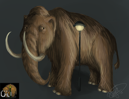 Sneaky Mammoth by BoWhatElse