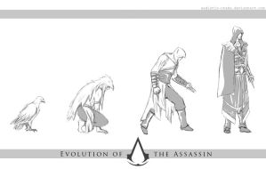 Evolution of the Assassin by thegadgetfish