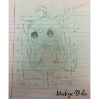 lil doodle from school by Miikyo