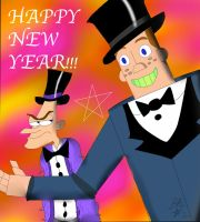 PnF ~ Happy New Year!!! by BlueAuroraLight