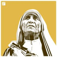 Mother Teresa by monsteroftheid
