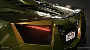 V12 supercar concept - Green Goblin - 5 by ollite20
