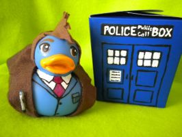 Dr. Who Rubber Duck Tennant by Oriana-X-Myst