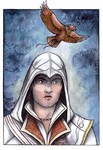 The Eagle rises - Assassin's Creed by Songes-et-crayons