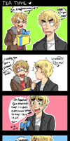 APH-Tea Time by Gandalfia