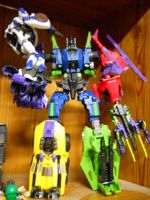 Jazz vs. Bruticus by fate82