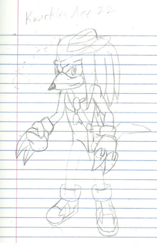 Knuckles the Echidna - 6 Years Later by Jay-jutsu