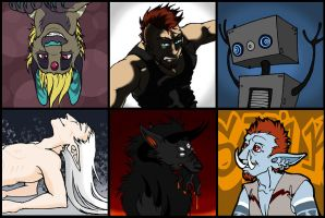 Icons by angermuffin