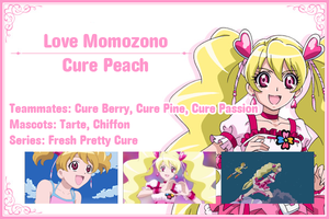 Cure Peach Info Card by frogstreet13