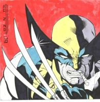 Wolverine rage by enzoacunzo