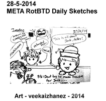 META RotBTD 20414 Daily Sketch 5-28 by veekaizhanez