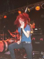 Hayley williams hair red by MurderxAlemania