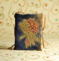 Dragonfly Bliss Notebook by gildbookbinders