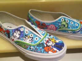 Pokemon Shoes for Alexis 2nd by angelica462