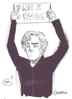 Sherlock: Not so snuggly. by superfizz