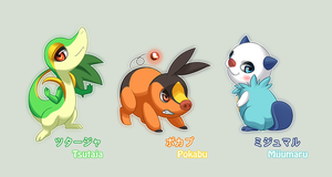 5th gen. starters by falia