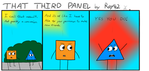 That Third Panel - More Friends #13 by Roy4242