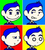 Faces of Elliot Edwards by NiGHTSfanKevin