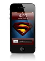 Wallpaper - Superman's iPhone by almanimation