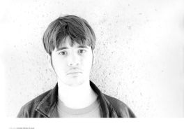 Untitled Portrait of Andy by seenew