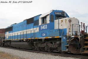 CN 5403 on NS 437 by EternalFlame1891