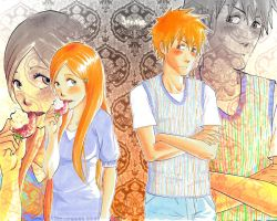 SS for Arya-Ichigo and Orihime by GaaraJamiE88