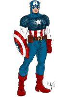 Heroic Age Captain America by Kaufee