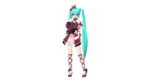 .:.DT Vintage Miku.:. DL by ChocoFudge98