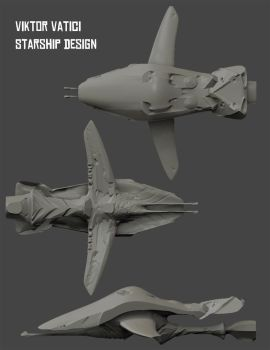 Starship Design by Eightser