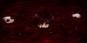 Ruby Rose red like roses by Astatos-Luna