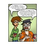 Update: My Roommate, The Internet Strip #16 by magusVroth